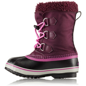 Sorel Youth Yoot Pac Nylon Boots Purple Dahlia/Foxglove